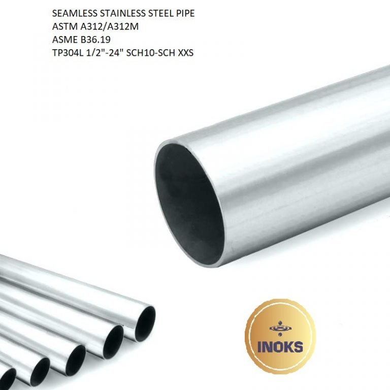 SEAMLESS STAINLESS STEEL PIPE ASTM A312 TP304L