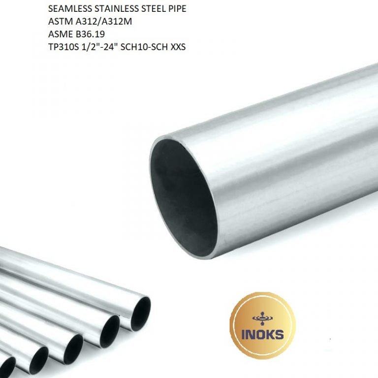 SEAMLESS STAINLESS STEEL PIPES ASTM A312 TP310S