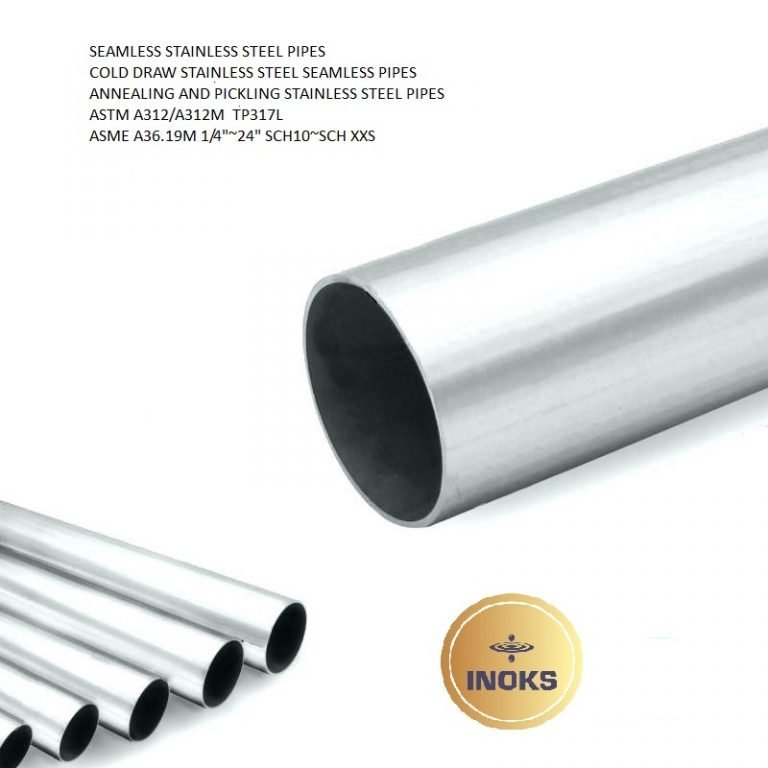 SEAMLESS STAINLESS STEEL PIPES ASTM A312 TP317L