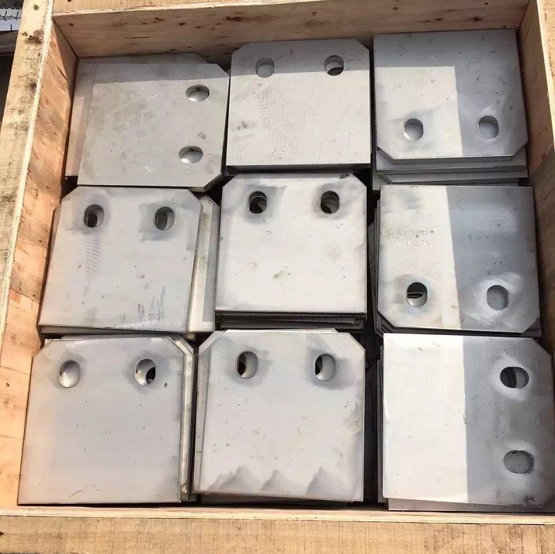 ss plate drilling hole